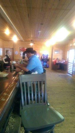 Knotty Pine Peanut Bar