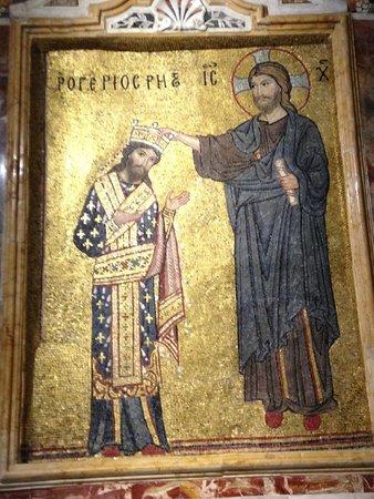 Santa Maria dell'Ammiraglio (La Martorana): incoronazione di Ruggero II dei Normanni