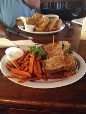 Silver Dollar Saloon: BLT and French Dip