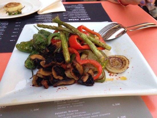 Parrillada de verduras picture of la llauradora de for Parrillada verduras