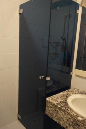 Hotel Desenzano: Shower