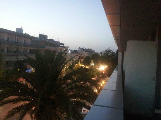 Galaxy Hotel Iraklio : Our Balcony