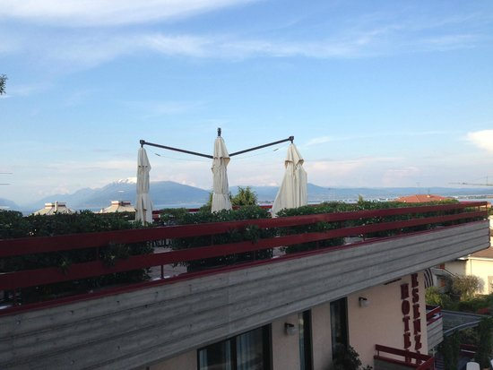Hotel Desenzano: View from the balcony