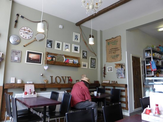 The Cookhouse Cafe: interior