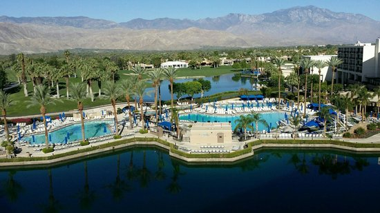 JW Marriott Desert Springs Resort & Spa: I love this view.