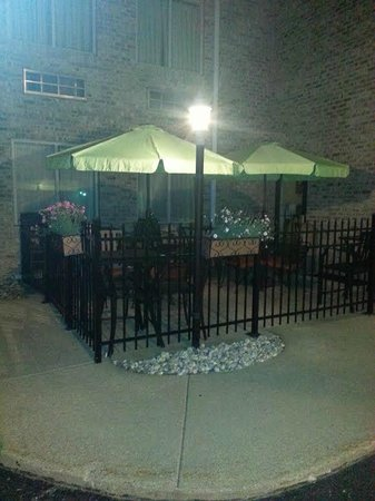 Comfort Inn Whitehall: Patio, for relaxing outdoors.