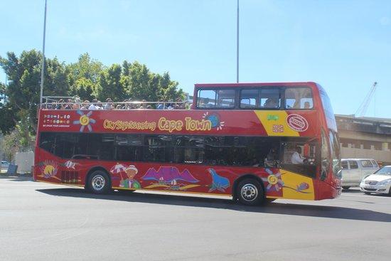 City Sightseeing: Vista do ônibus