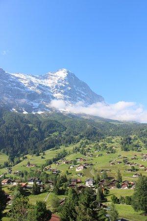 Hotel Cabana: Eiger mountain