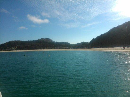 Playa de Rodas: Arena blanca, agua cristalinas