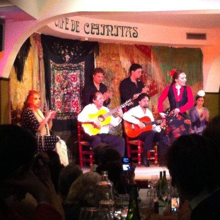 Cafe De Chinitas : Um bom espetáculo