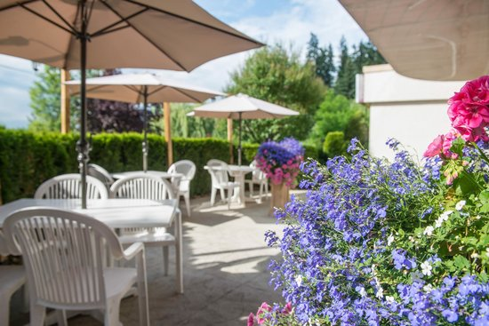 Podollan Inn: Dine outside and enjoy the surrounding gardens