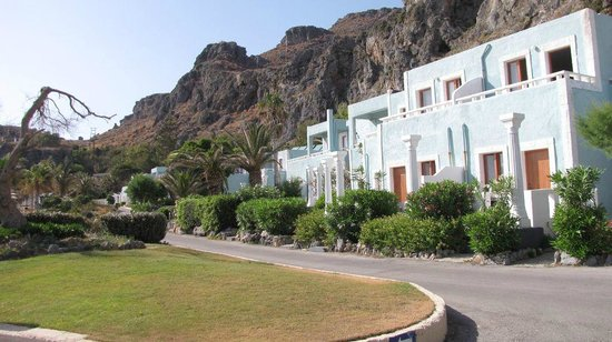 "Kalypso Cretan Village: Vue des ""chambres"""