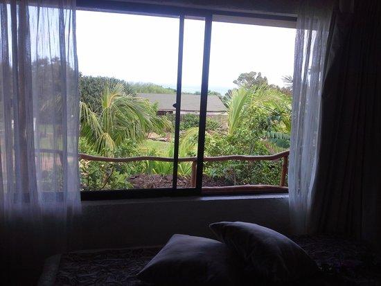 Pikera Uri Eco Lodge : paisagem vista do quarto