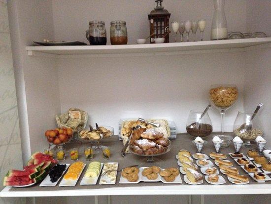 Hotel Santa Brigida: Altijd een delicatesse het ontbijt!