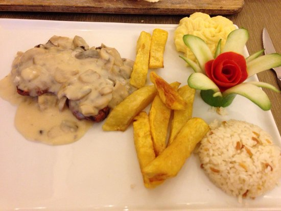 Aciktim Del Boys: Beautiful garlic steak