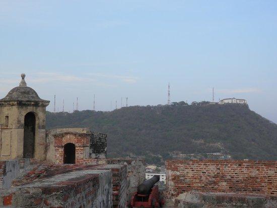 Château de San Felipe de Barajas : convento la popa lá no alto