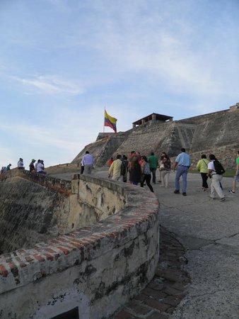 Château de San Felipe de Barajas : a rampaaa