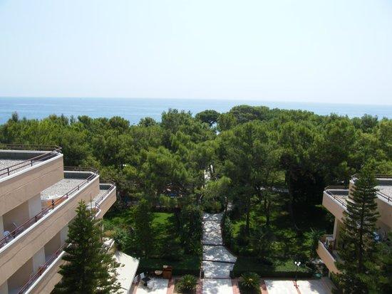 Larissa Club Saphire Hotel: Вид из номера