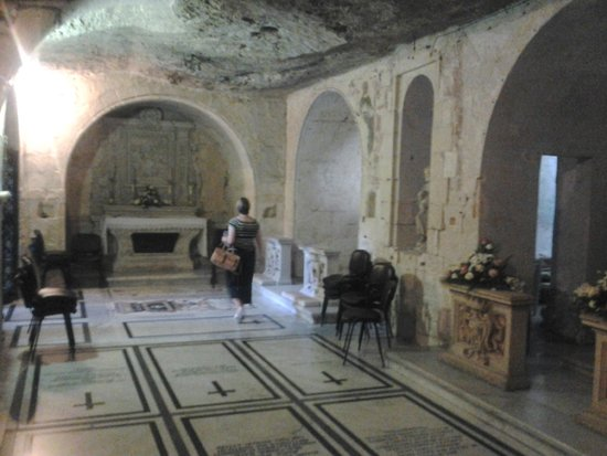 St Paul's Catacombs: the Grotto