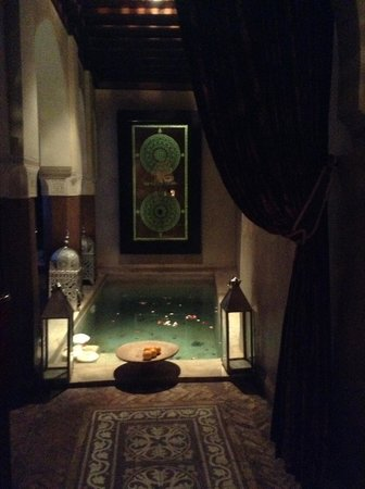 Zamzam Riad: This is your welcoming sight as you enter Riad Zamzam-absolutely beautiful
