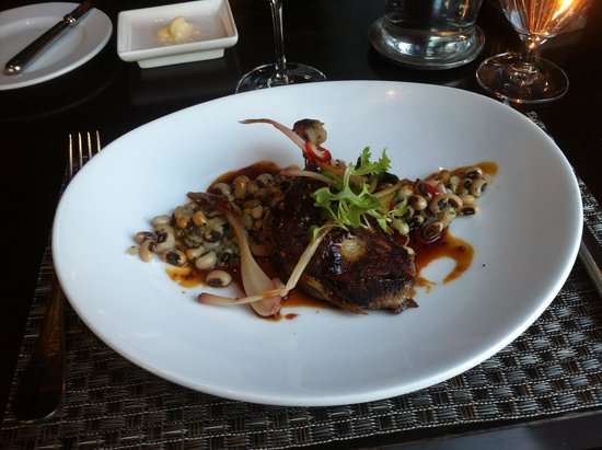 Colicchio & Sons: Duck Confit, Black-Eyed Peas, Ramps & Fresno Chilies