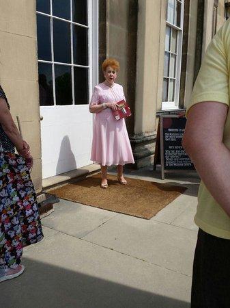Attingham Park: Our tour guide who was wonderful!