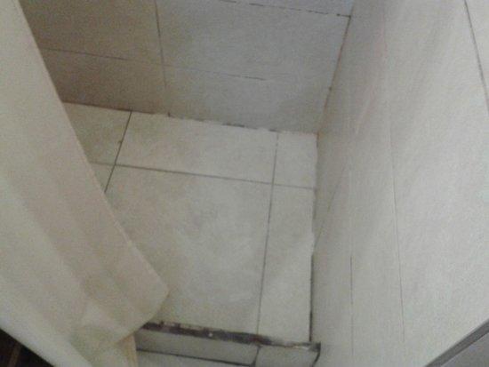 Posada al Sur: chao do banheiro