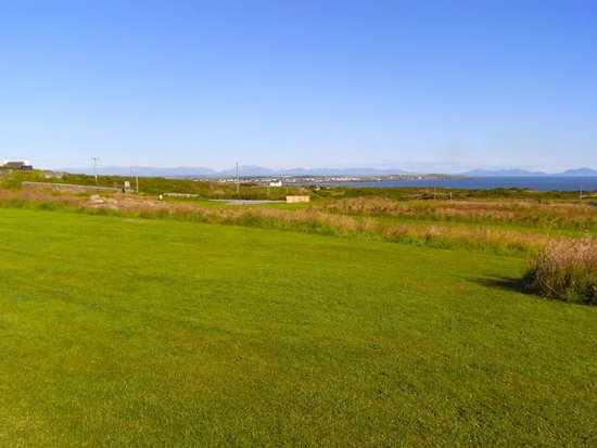 Blackthorn Farm: This is the view from our tents