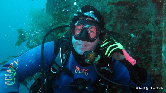 Dive North: Dave on HMNZS Canterbury