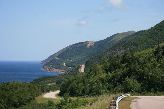 Cape Breton Highlands National Park: The long and winding trail....