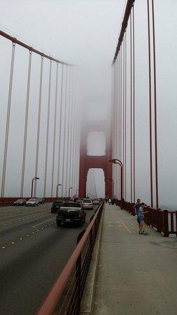 Golden Gate Bridge : Foggy  Foggy