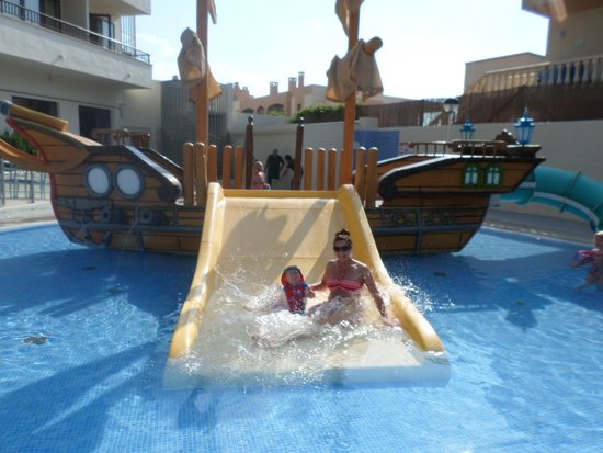 Alua Miami Ibiza: Splash pool