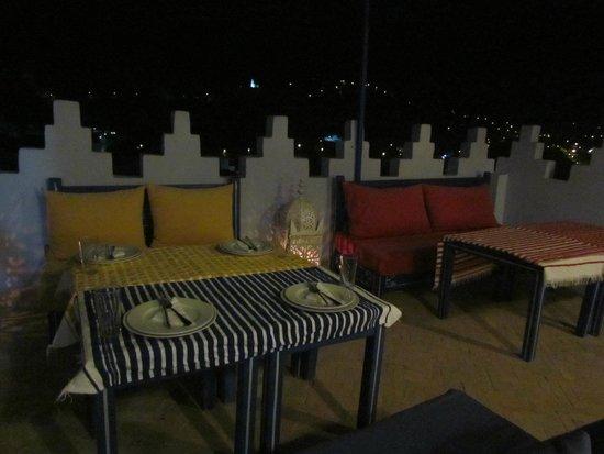 Dar Zambra: terraço
