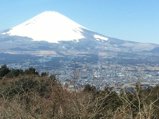 Japan Gray Line - Day Tours: View of Mt Fuji from the bus during the Gray Line tour