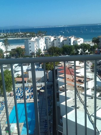 Globales Condes de Alcudia: view from balcony