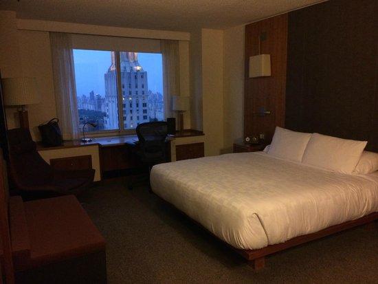 Le Parker Meridien New York: my room