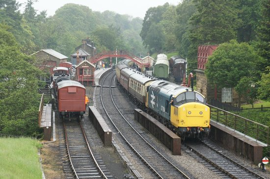 Goathland station and tracks