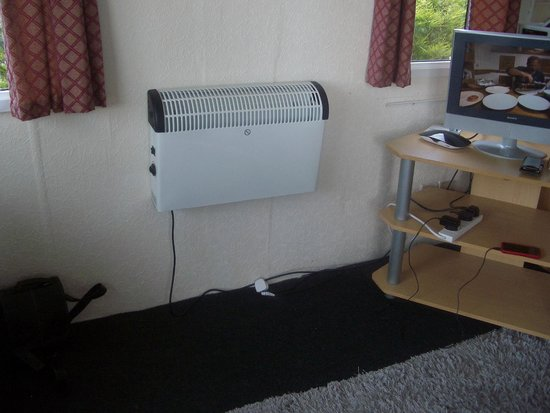 Southsea Holiday Home and Lodge Park: the heating