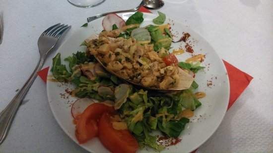 Nando V: Ceviche de Daurade