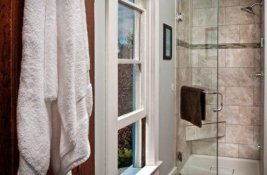 Blue Goose Inn Bed and Breakfast: Chart Room Steam Shower