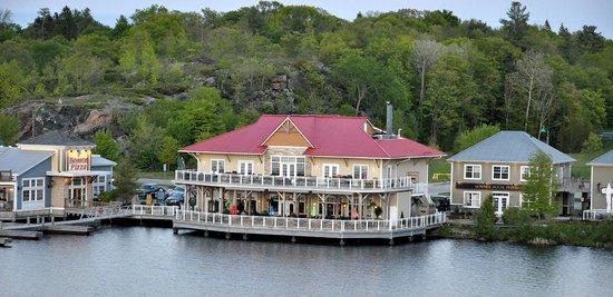 Residence Inn by Marriott Gravenhurst Muskoka Wharf: View from our balcony