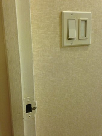 Broadway at Times Square Hotel : teclas del baño, sucias