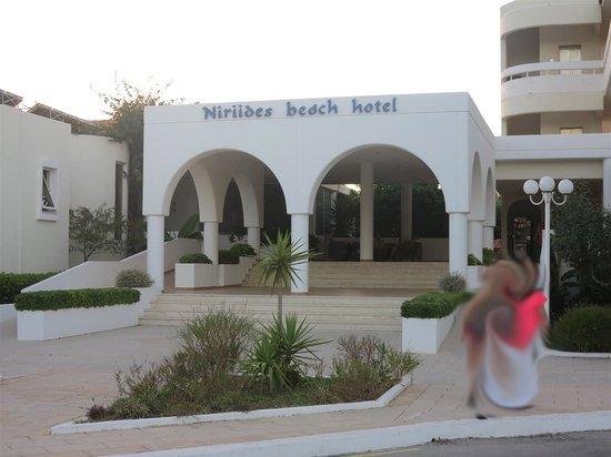 Niriides Hotel: Niriides Beach Hotel, Kolymbia, Rhodes