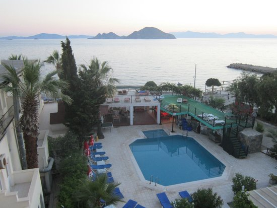 Cemre Hotel: early morning from room