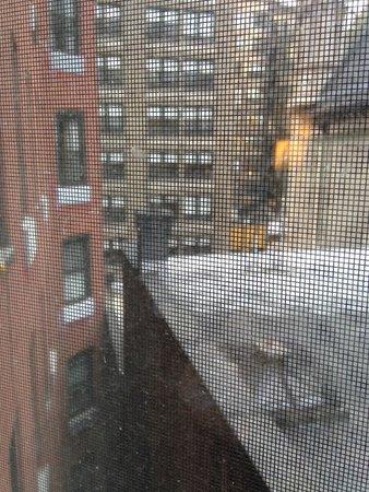 Broadway at Times Square Hotel: vista habitacion