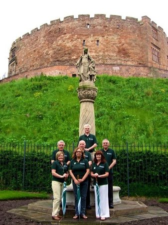 Tamworth, UK: The Lady of the Mercians