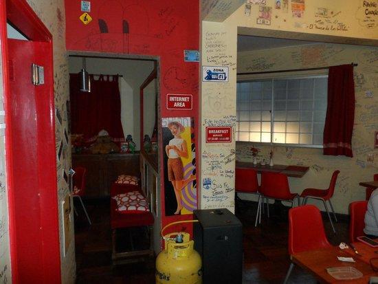 Traveller's Place Hostel : comedor