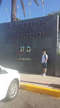 HD Parque Cristobal Gran Canaria: Outside reception