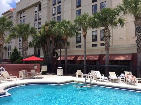 Hampton Inn Orlando International Drive/Convention Center: nice pool.