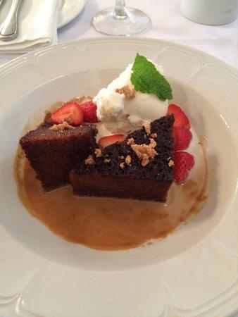 Jonkershuis Restaurant at Groot Constantia : Malva pudding